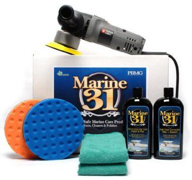 Marine 31 Polish & Wax Kit Boat Buffer