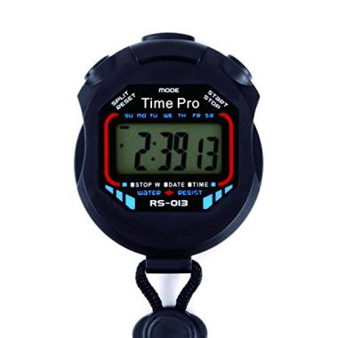 RS-013 Water Resistant Sports Stopwatch by ProCoach