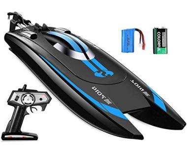Top Race Remote Control Speed Boat, High Speed RC Racing Boat