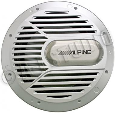 Alpine 10″ Single 4-Ohm Type-R Marine Subwoofer