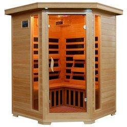 Santa Fe 3 Person Corner Unit Infrared Sauna