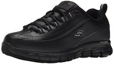 Skechers Women's Sure Track Trickel Slip Resistant Work Shoes