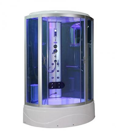 Sliding Door Steam Shower Enclosure by Eagle Bath