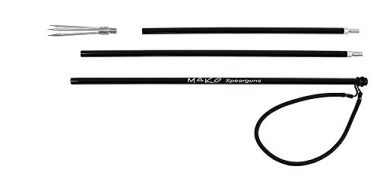 MAKO Spearguns Spearfishing Traveler Pole Spear