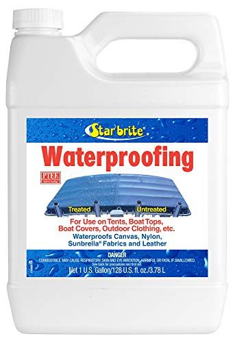 Waterproofer Spray and Stain Repellant by Star Brite