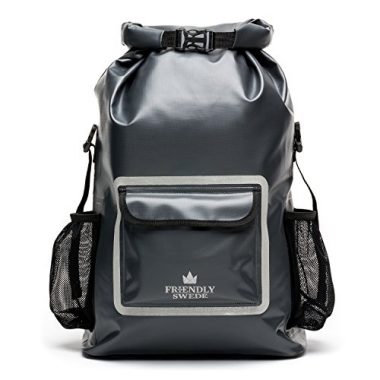 The Friendly Swede Waterproof Roll Top Backpack