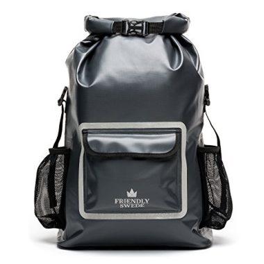 The Friendly Swede Waterproof Roll Top Backpack