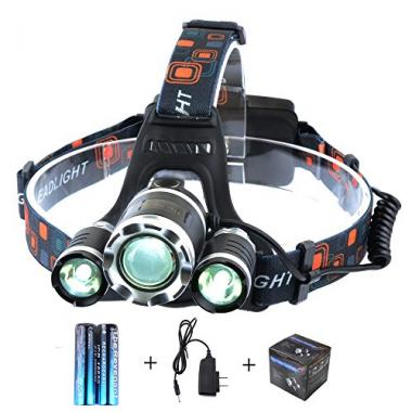 Super Bright LED Headlamp by The Revenant