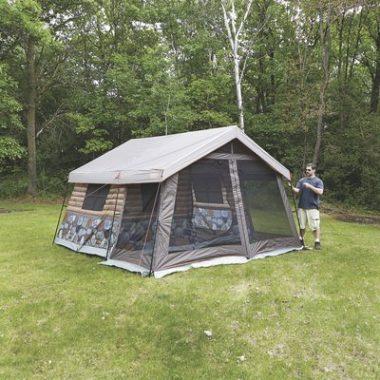 8-Man Log Cabin Tent by Timber Ridge