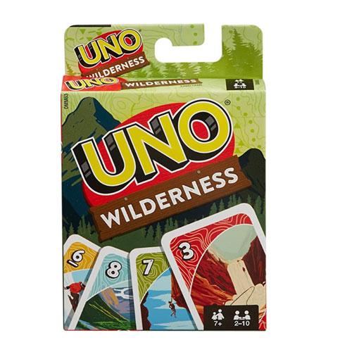 Mattel Games UNO Wilderness Theme