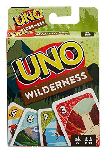 UNO Wilderness Card Camp Game