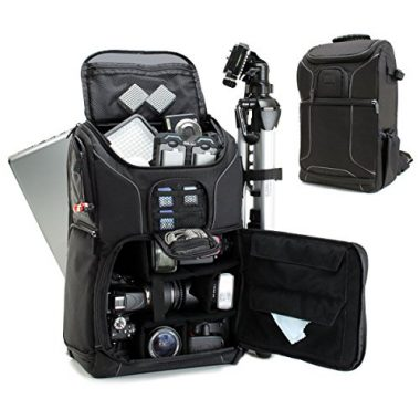 USA GEAR Digital SLR Camera Backpack For Hiking