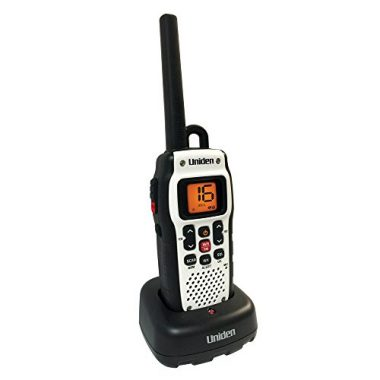 Uniden Handheld Floating Waterproof Two-Way VHF Marine Radio