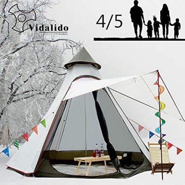 Vidalido Dome 5-6 Person 4 Season Glamping Tent