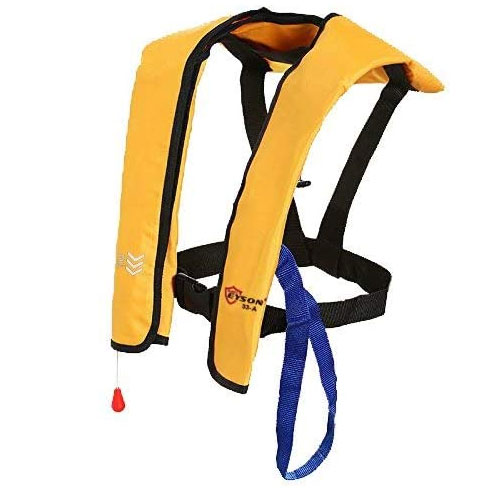 Top Safety Inflatable Wakeboard Life Jacket