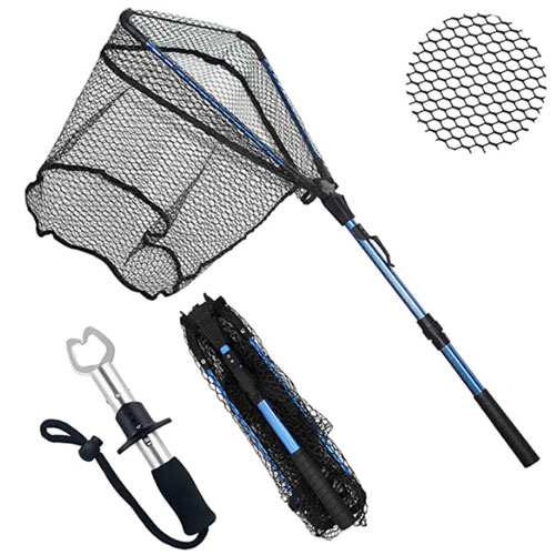 ZHENDUO OUTDOOR Fishing Landing Net