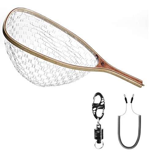 SF Rubber Kayak Fishing Net