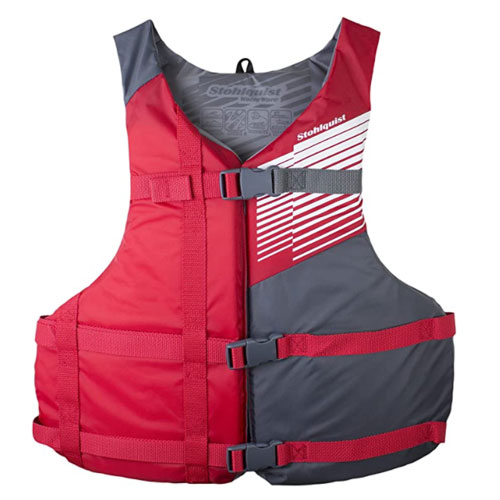 Stohlquist Fit Adult PFD 4 Pack Life Jackets For Boating