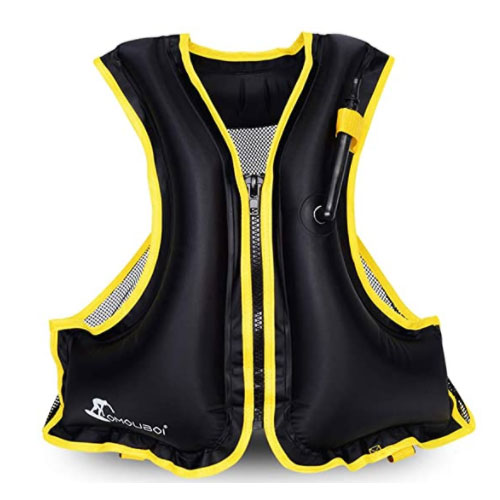 OMOUBOI Inflatable Life Jacket For Non Swimmer