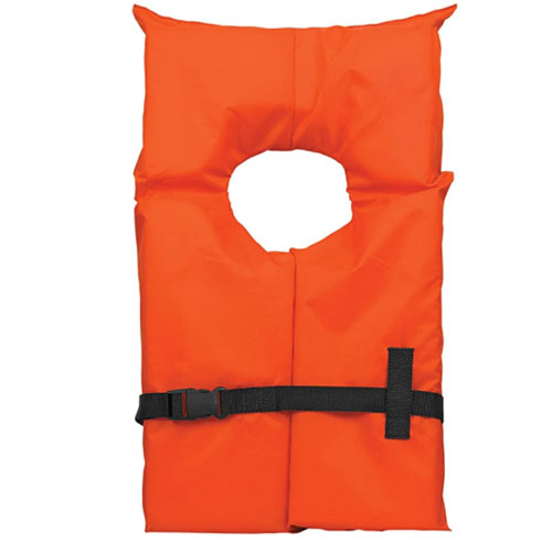 Airhead Type II Keyhole Life Jacket For Non Swimmer