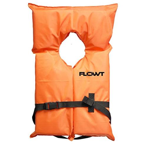 Flowt Type II Life Jacket For Boating