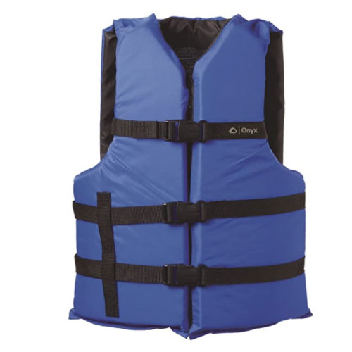 Onyx General Purpose Boating Life Jacket For Non Swimmer