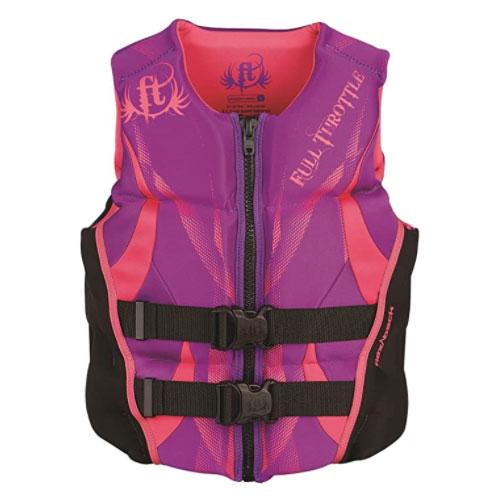 Full Throttle Women's Hinged Rapid-Dry Wakeboard Life Jacket
