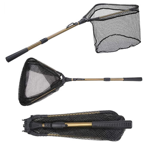YVLEEN Folding Kayak Fishing Net