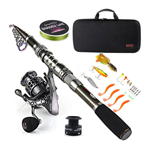 Sougayilang Full Kit Kayak Spinning Rod