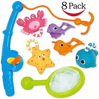 Funcorn Toys Floating Squirts and Water Scoop Pool Toys