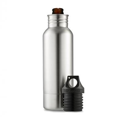 BottleKeeper Original Stainless Steel Beer Koozie