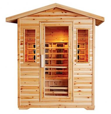 Cayenne 4-Person Outdoor Sauna