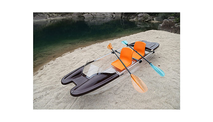 ClearYup Electric Kayak with Remote Control Motor