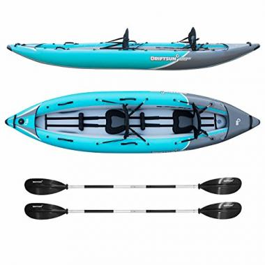Driftsun Rover 220 Inflatable Tandem White-Water Kayak
