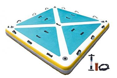 Inflatable Floating Platform by Blue Water Toys