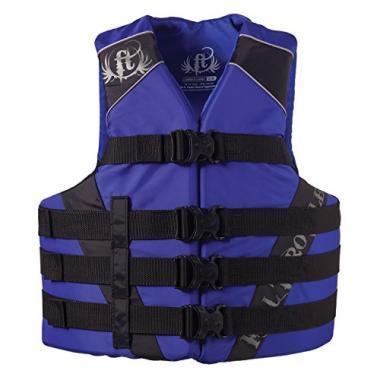 Full Throttle Adult Dual-Sized Nylon Life Jacket For Jet Ski