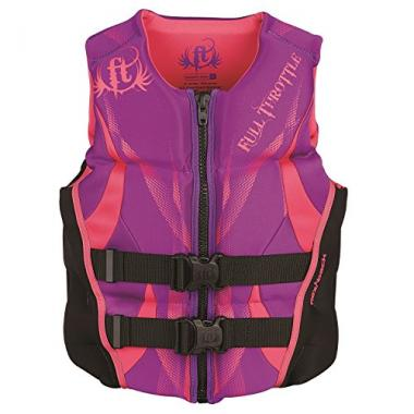 Full Throttle Women's Hinged Rapid-Dry Wakeboard Life Jacket
