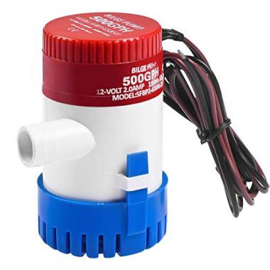 Goplus Submersible Electric Kayak Bilge Pump
