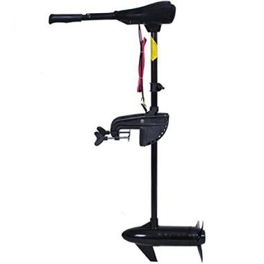 Electric Trolling Motor with Adjustable Handle by Goplus