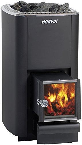 Harvia M3 SL wood burning sauna heater