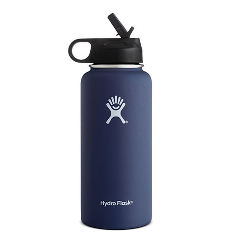 Hydro Flask 32 oz Wide Mouth with Straw Lid
