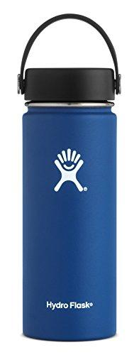 18 oz Wide Mouth Water Bottle Hydro Flask