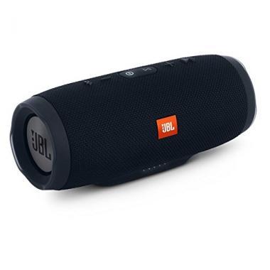 JBL Charge 3 JBLCHARGE3BLKAM Waterproof Portable Bluetooth Speaker