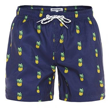MaaMgic Slim Fit Men's Swim Trunk