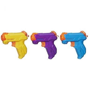 Nerf Super Soaker Zipfire 3-Pack Water Guns
