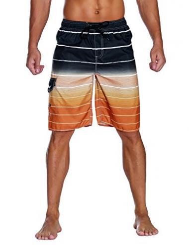 Men's Quick Dry Swim Trunks by Nonwe