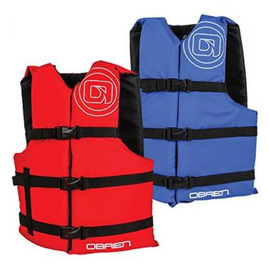 O'Brien 4 Pack Adult Life Jackets For Boating