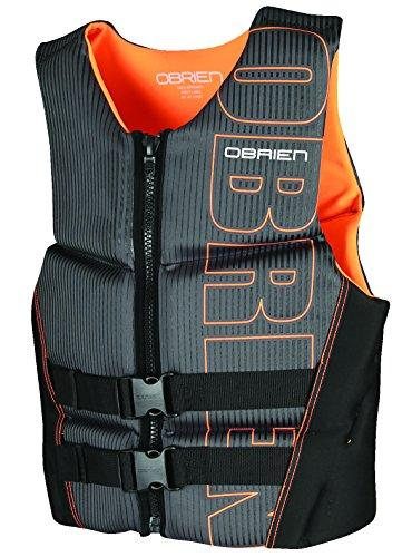 O'Brien Men's Flex V-Back Neoprene Life Jacket For Jet Ski
