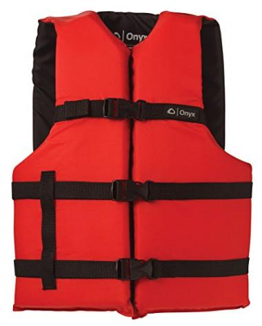 Onyx General Purpose Durable Life Jacket For Boating