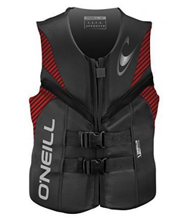 O'Neill Men's Reactor USCG Life Jacket For Jet Ski